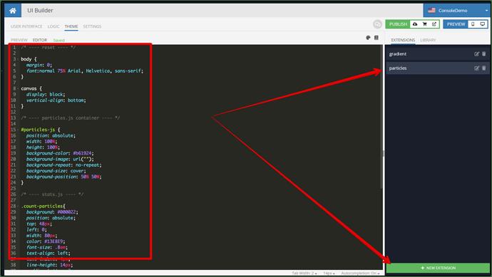 UI Builder - ConsoleDemo - Backendless 2021-10-01 04-50-31