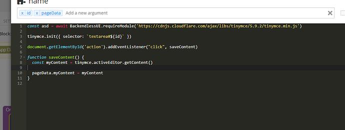 UI Builder - JSCodeBlock - Backendless 2021-09-19 23-34-13