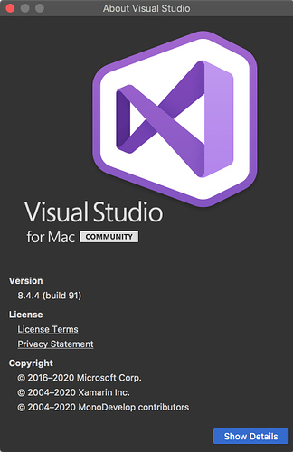 About Visual Studio 2020-02-04 11-14-36