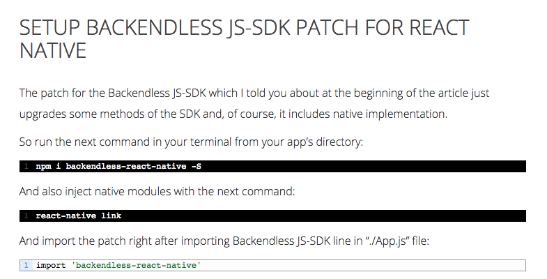 Backendless Messaging addPushNotificationListener is